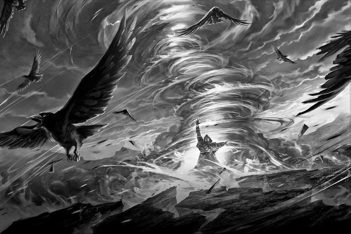 летящая тьма картинки несколько видов