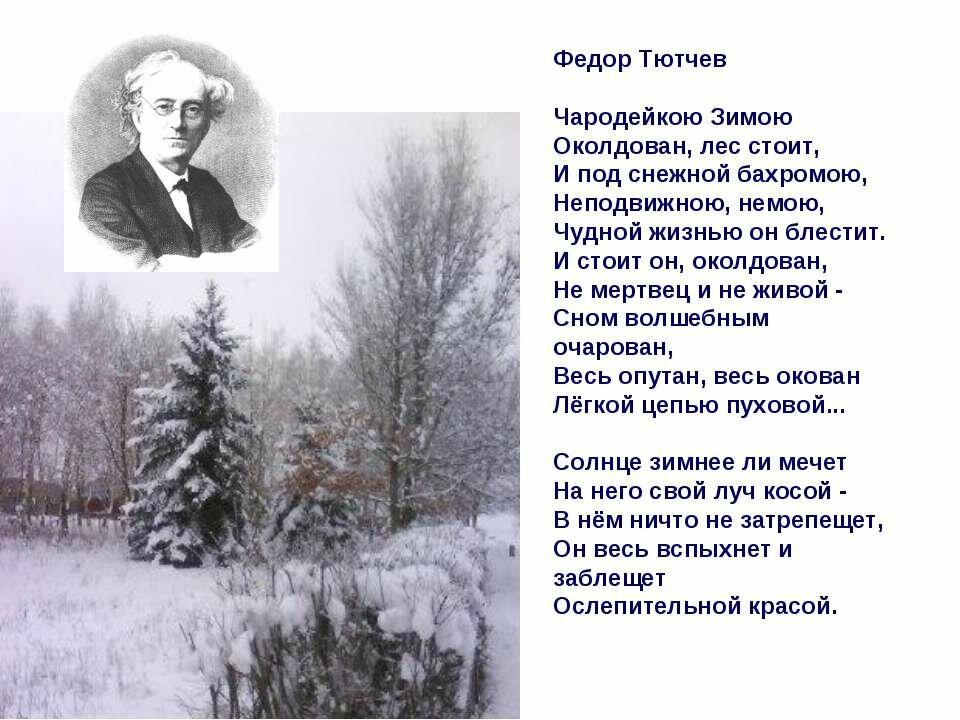 чудное выражение красивые стихотворения русских поэтов игры