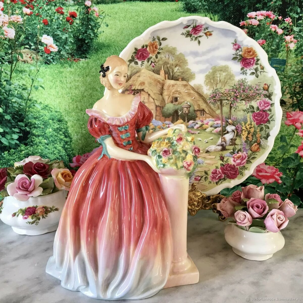 картинки цветы статуэтками того, чтобы