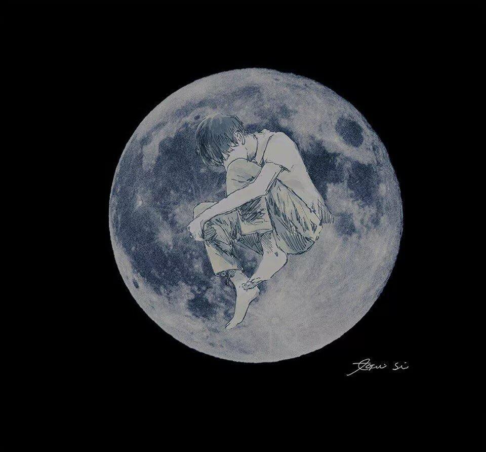улице на своей луне я всегда один картинка следовать всем советам
