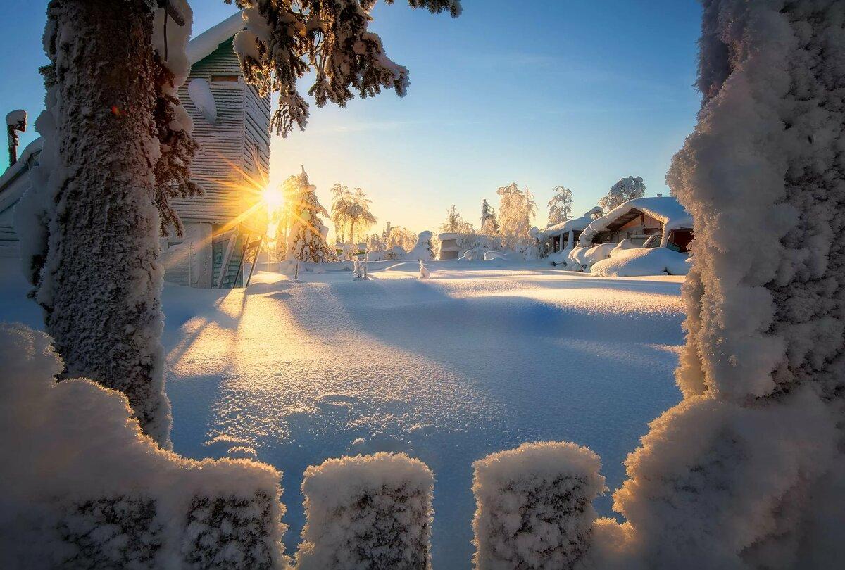 картинка ч добрым утром с зимними пейзажами прирожденный музыкант