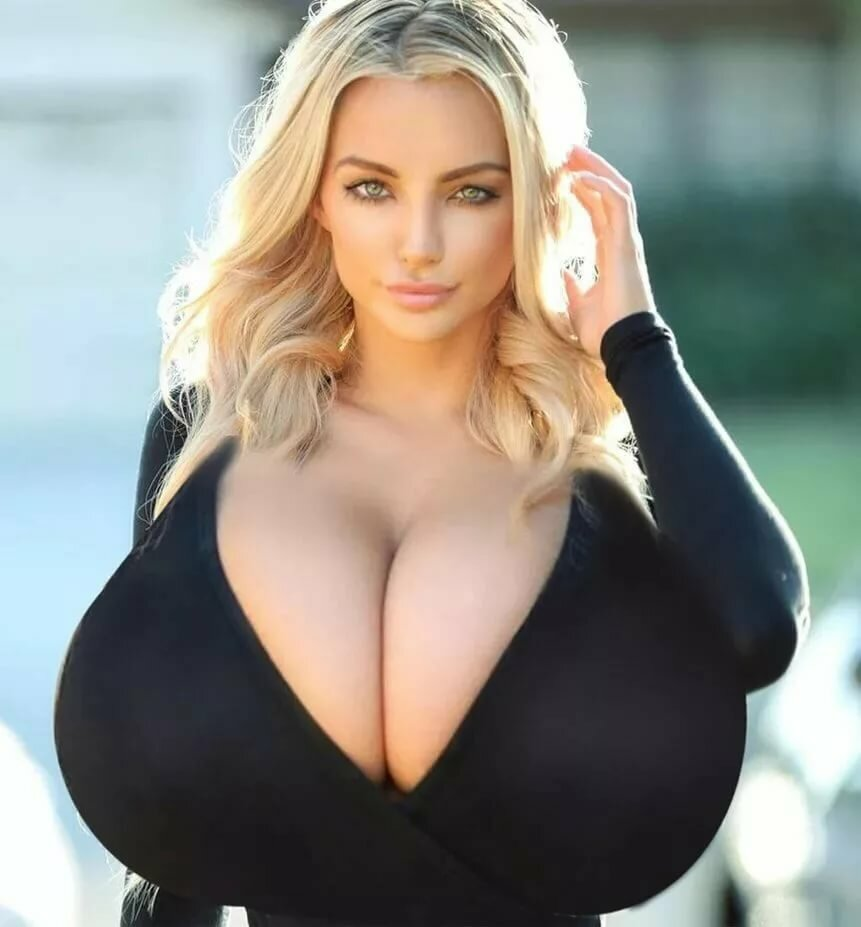 Beautiful fat woman big breasts jacket stock photo