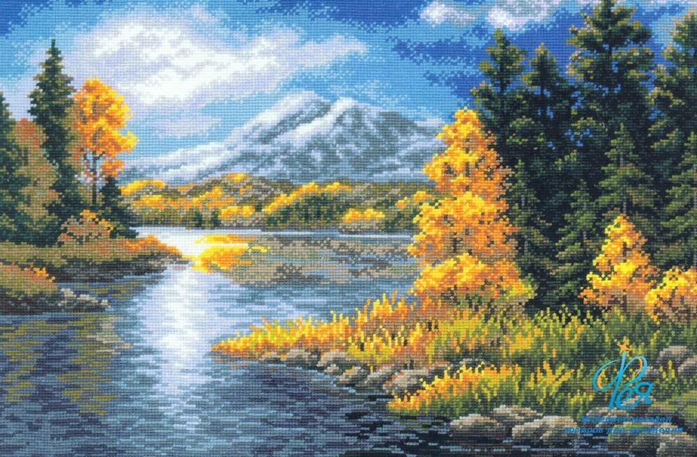 Картинки с пейзажами природы для вышивания крестиком