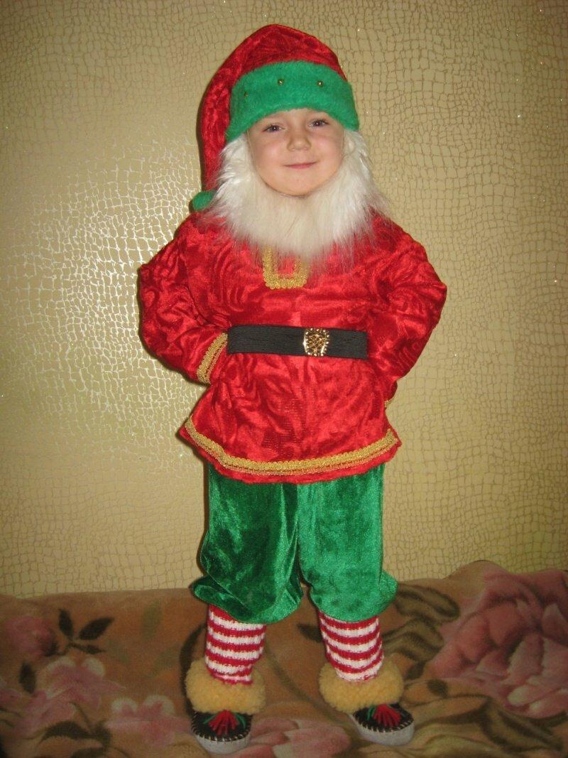 картинки костюма гнома на новый год