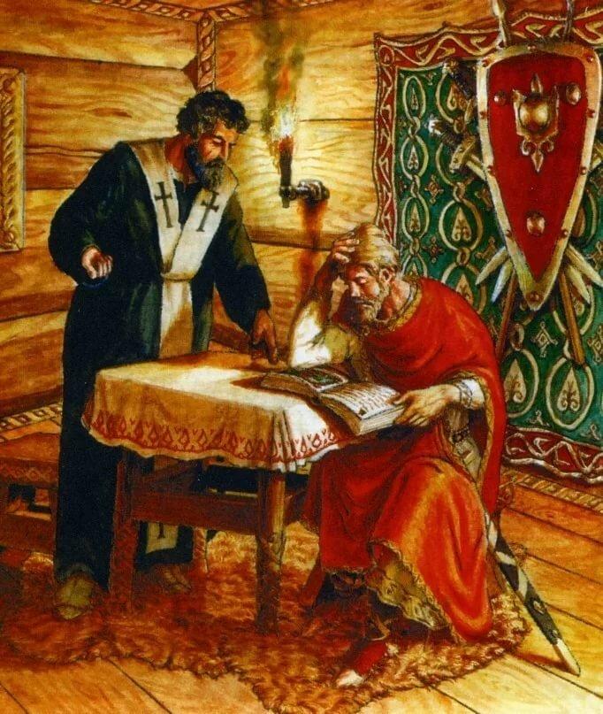 История создания русских картинки