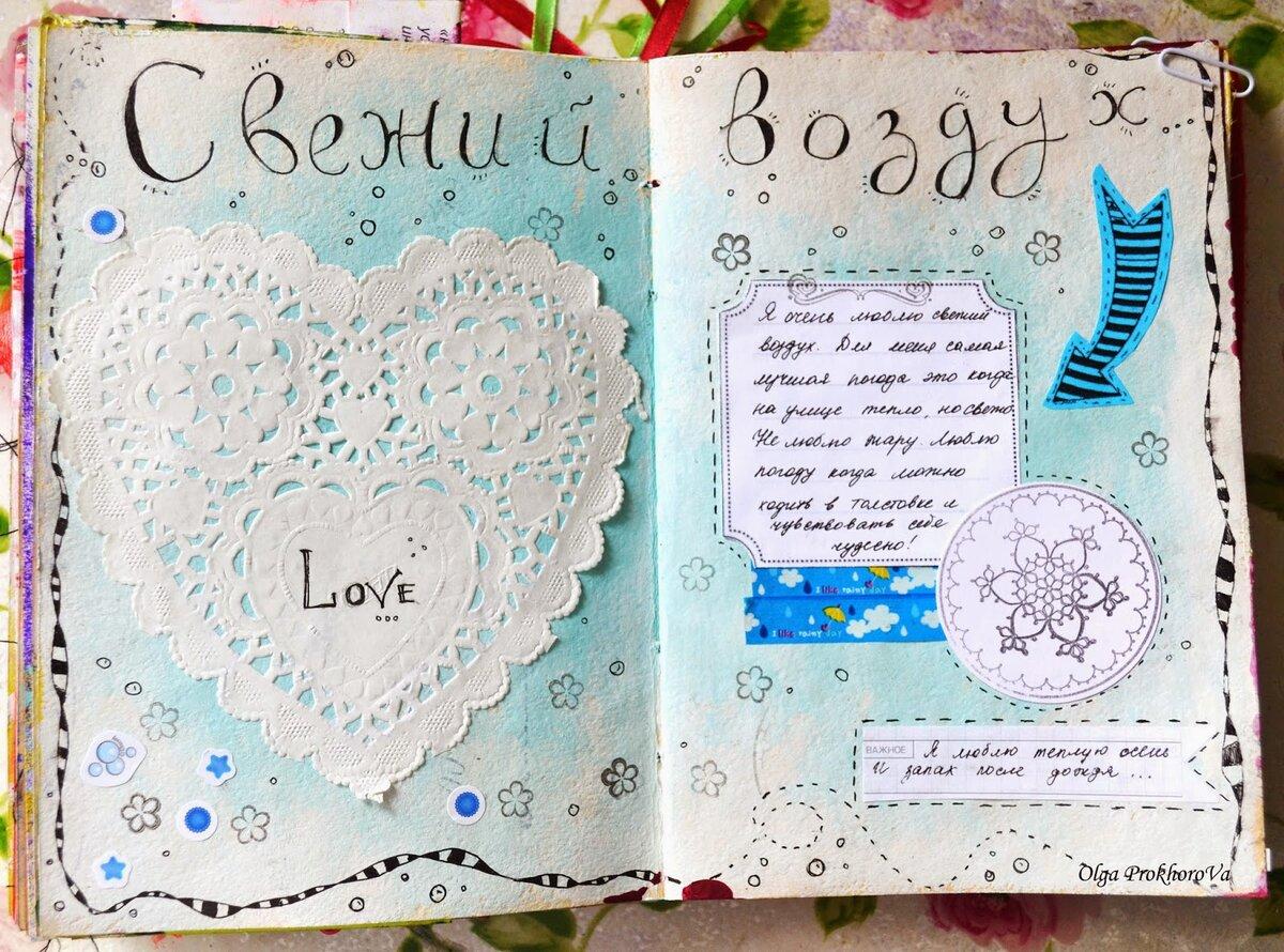 идеи для начала личного дневника картинки