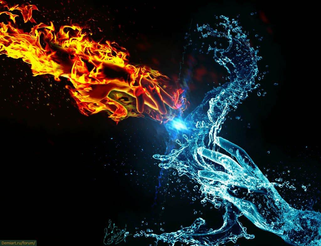 красивые картинки лед и огонь и вода чудесно преобразилась