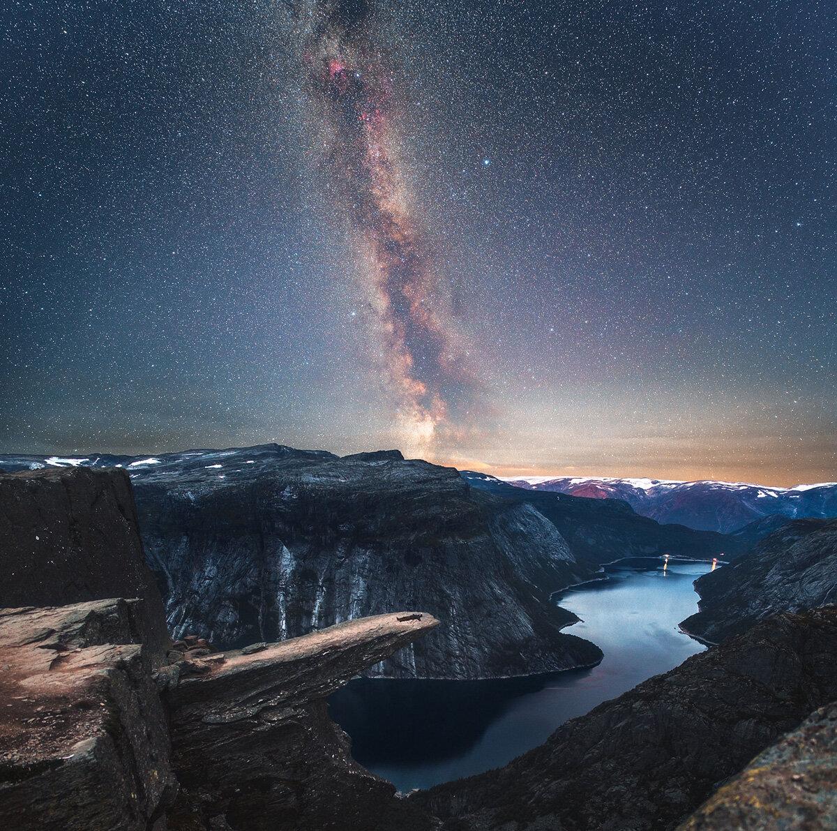 Завораживающие картинки космос