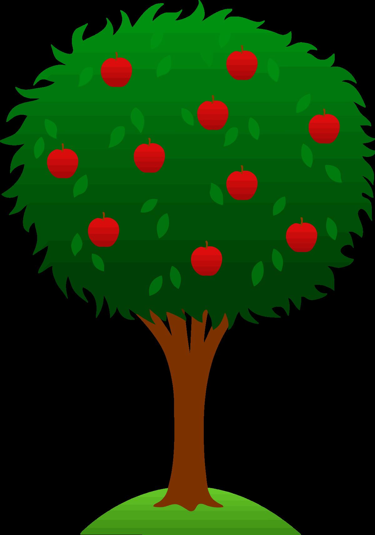 Картинки для детей дерева яблони