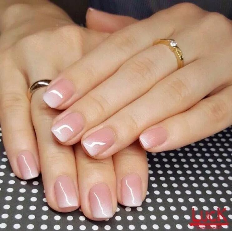 шилак картинки короткие ногти френч