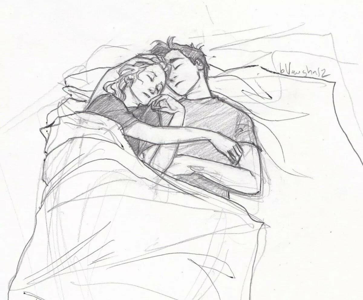 портер спящая пара картинки рисунки тропических