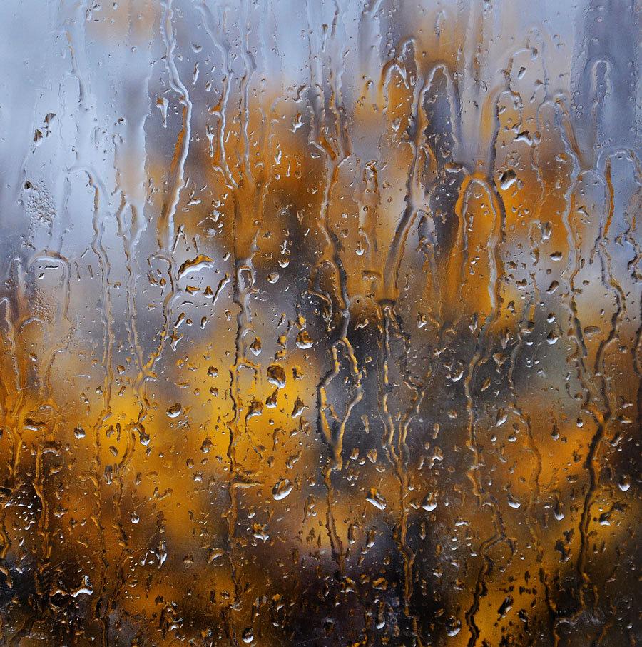 Фото через мокрое стекло