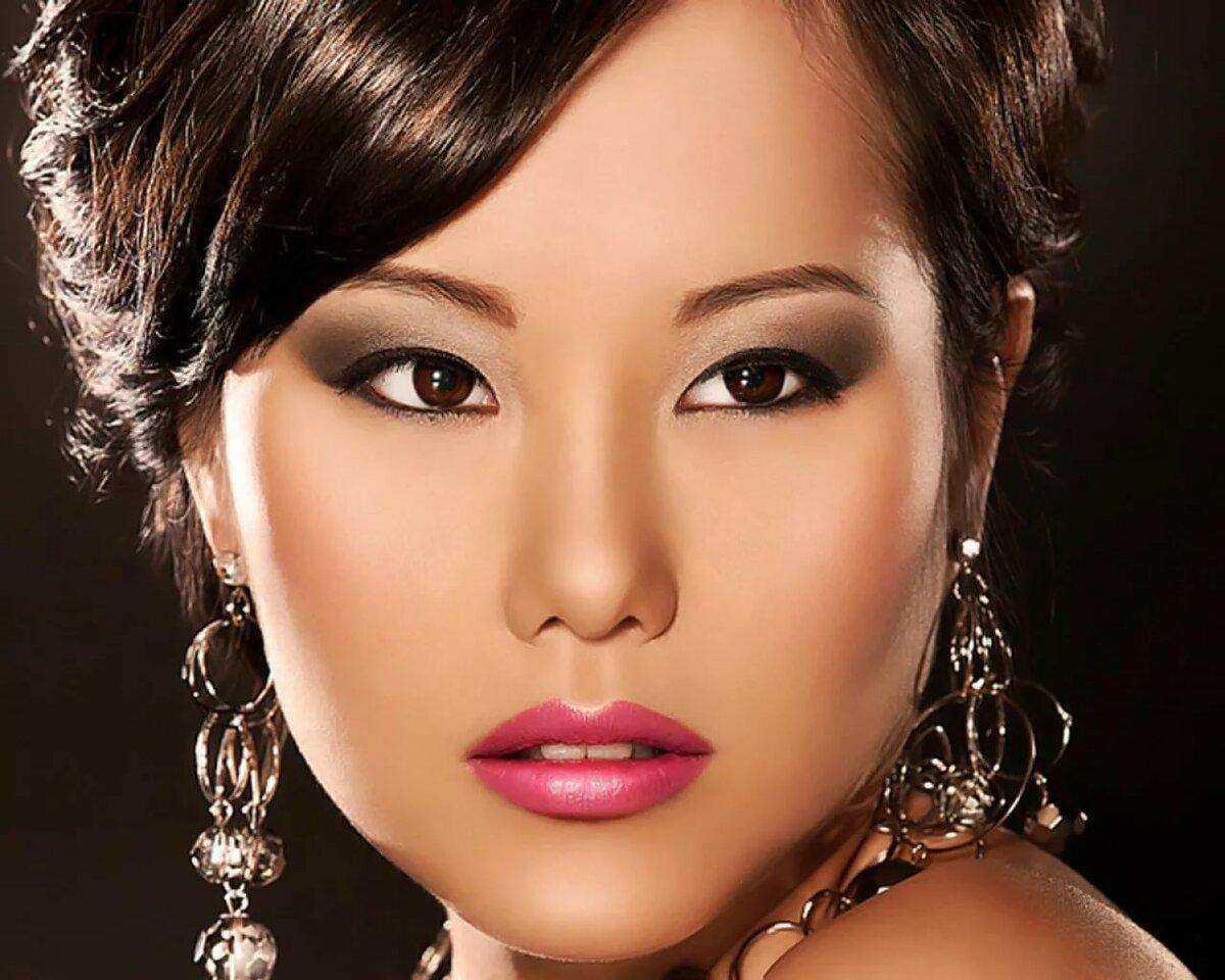 макияж для азиатских глаз без век фото готовой работы монтажу