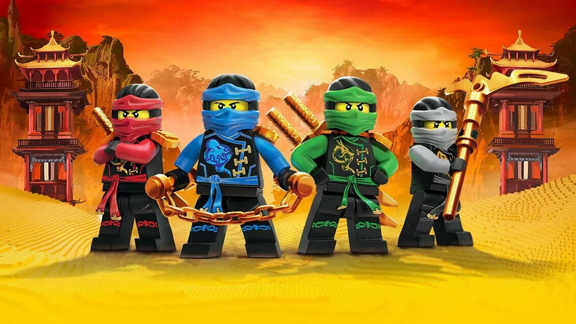 Лего ниндзяго красивые картинки