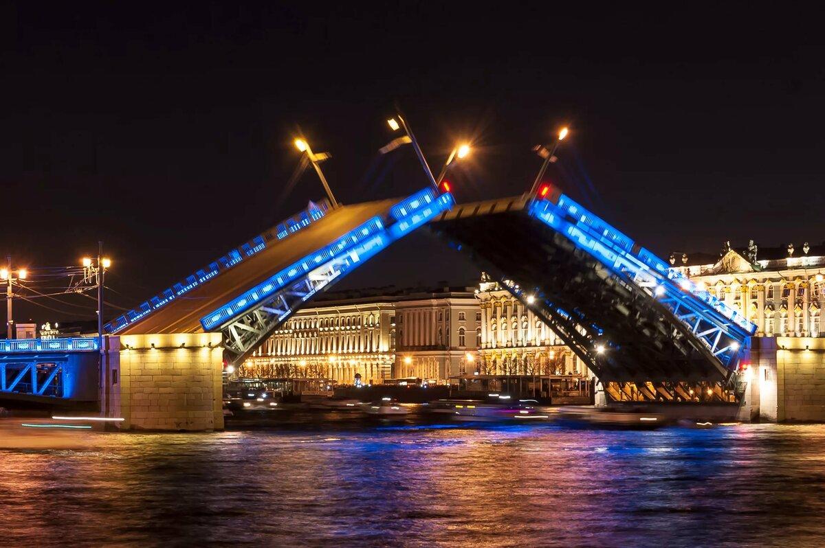 Санкт-петербург открытие мостов картинки
