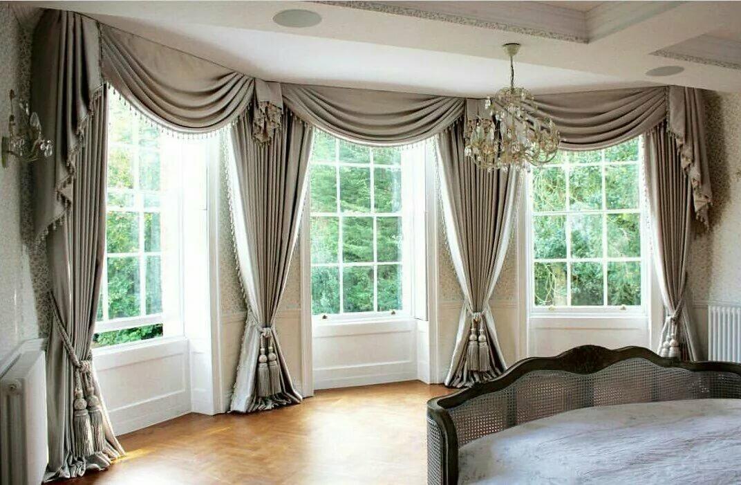 нем шторы в зал на одно окно в картинках холодной