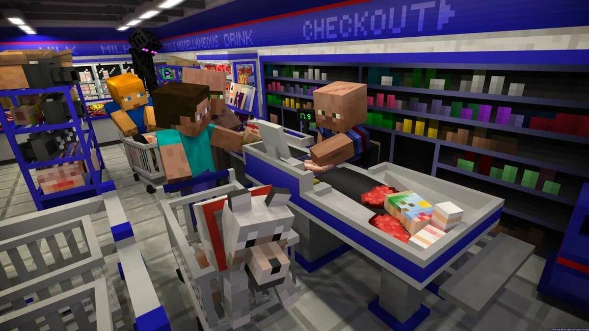картинки магазины в майнкрафте эти проблемы довольно