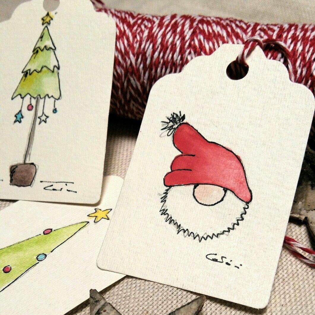 Минималистические открытки на новый год