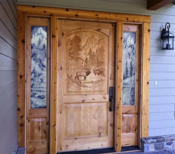 Как сделать красивые двери для фотосессии
