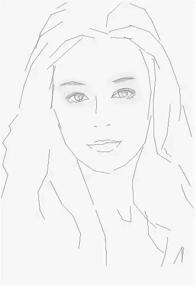 Нарисованные картинки карандашом поэтапно девушку