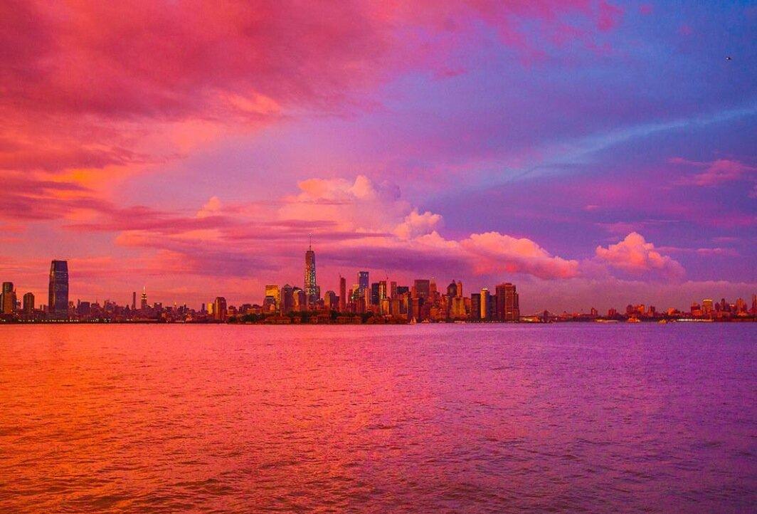 картинки розовый вечер в городе берите подруг