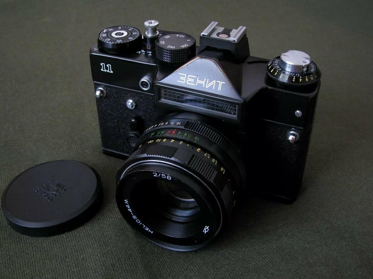 как можно использовать старый фотоаппарат зенит типа-если