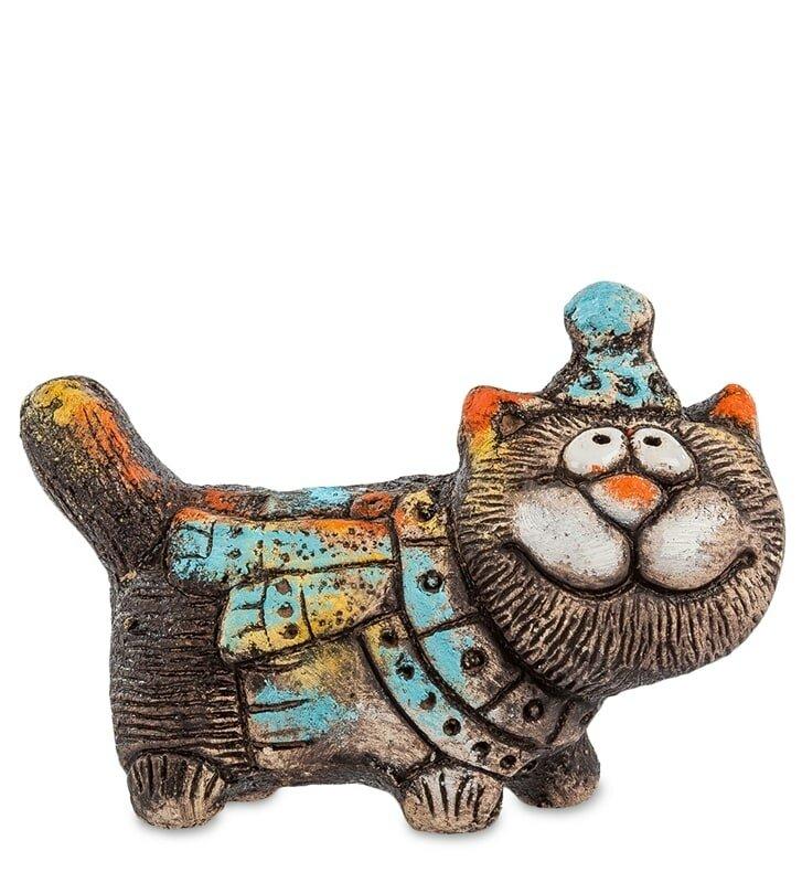 видны веселые коты керамика очень