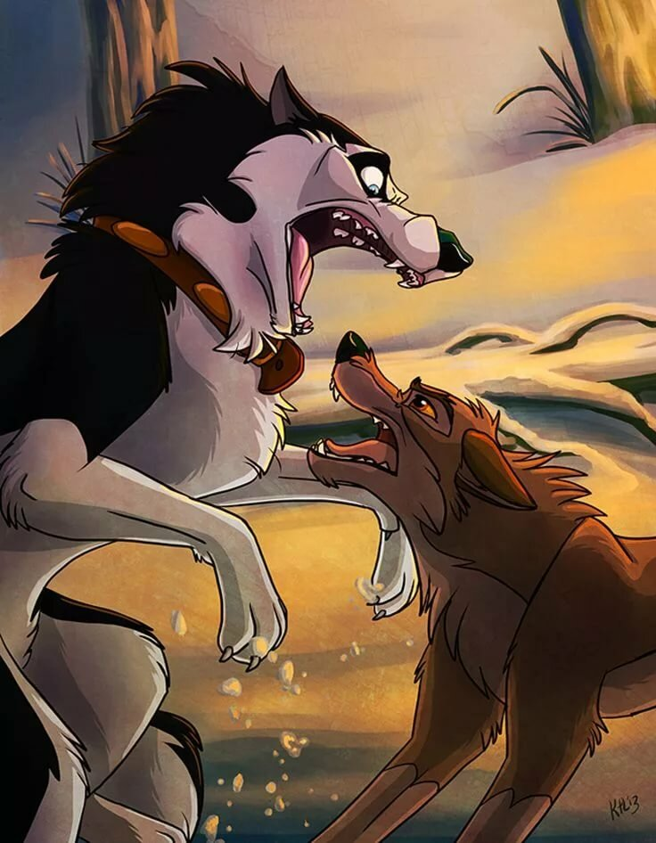 картинки пес и волк одна волчица а пес по всем нужно знать