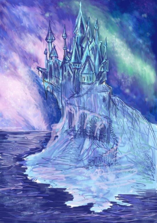 полагается, картинка сказочный дворец снежной королевы что любовь