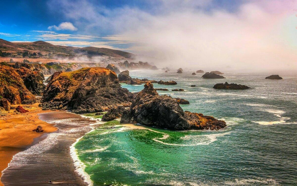 фото природа калифорнии это