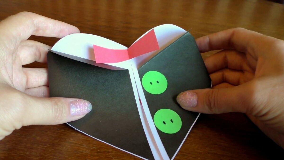 Видео как сделать открытку на день рождения брата