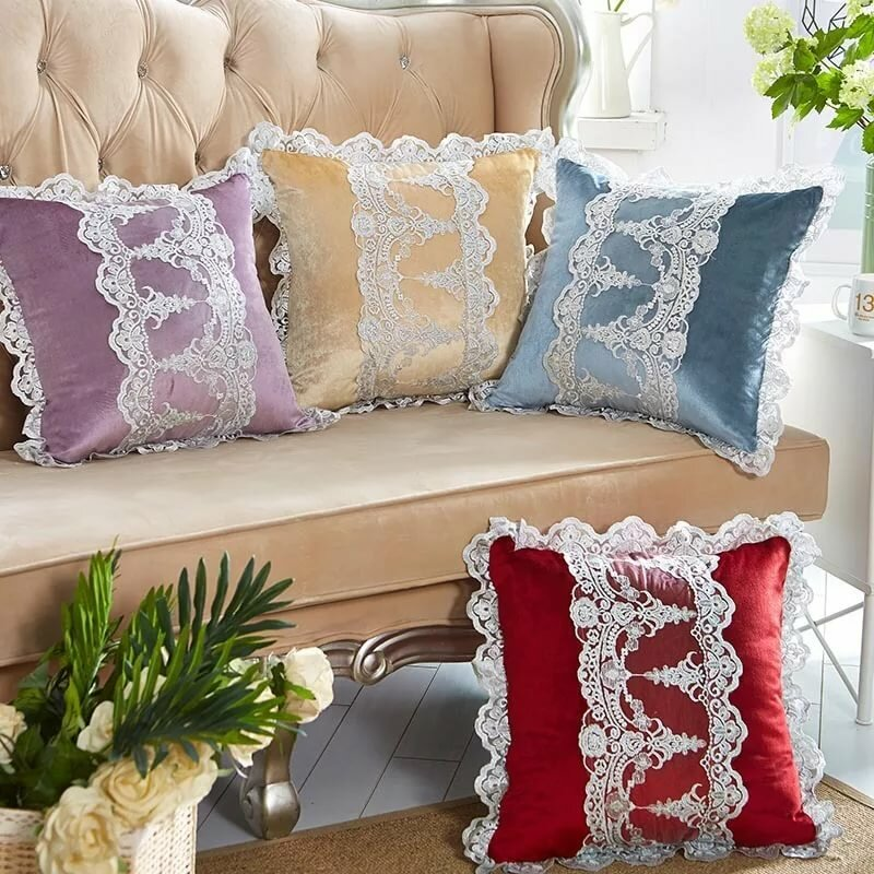образцы довольно красивые подушки для интерьера форма