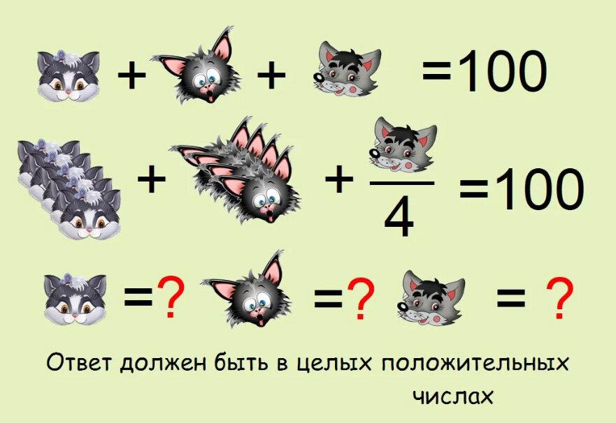 Ответы на логические задачи в картинках