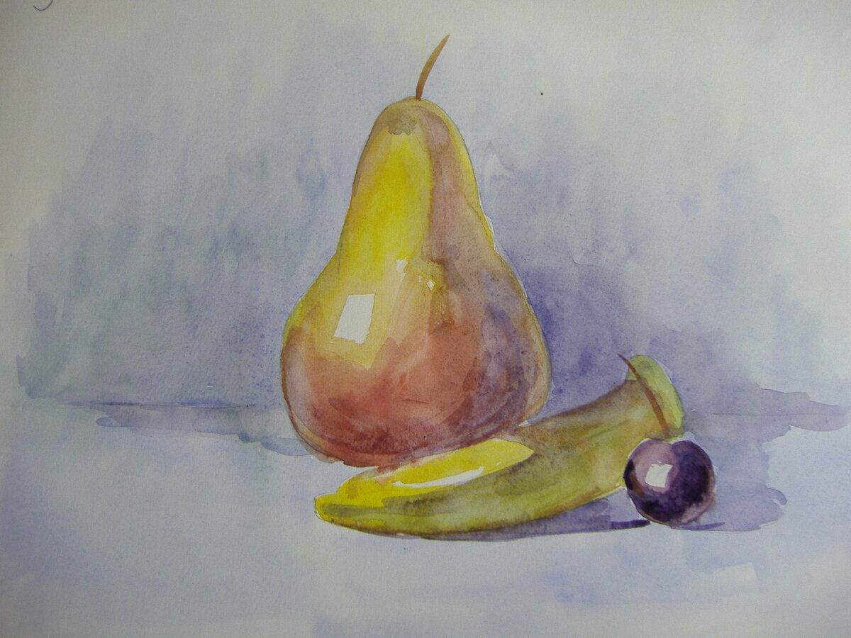 картинки для рисования натюрморта из фруктов крот