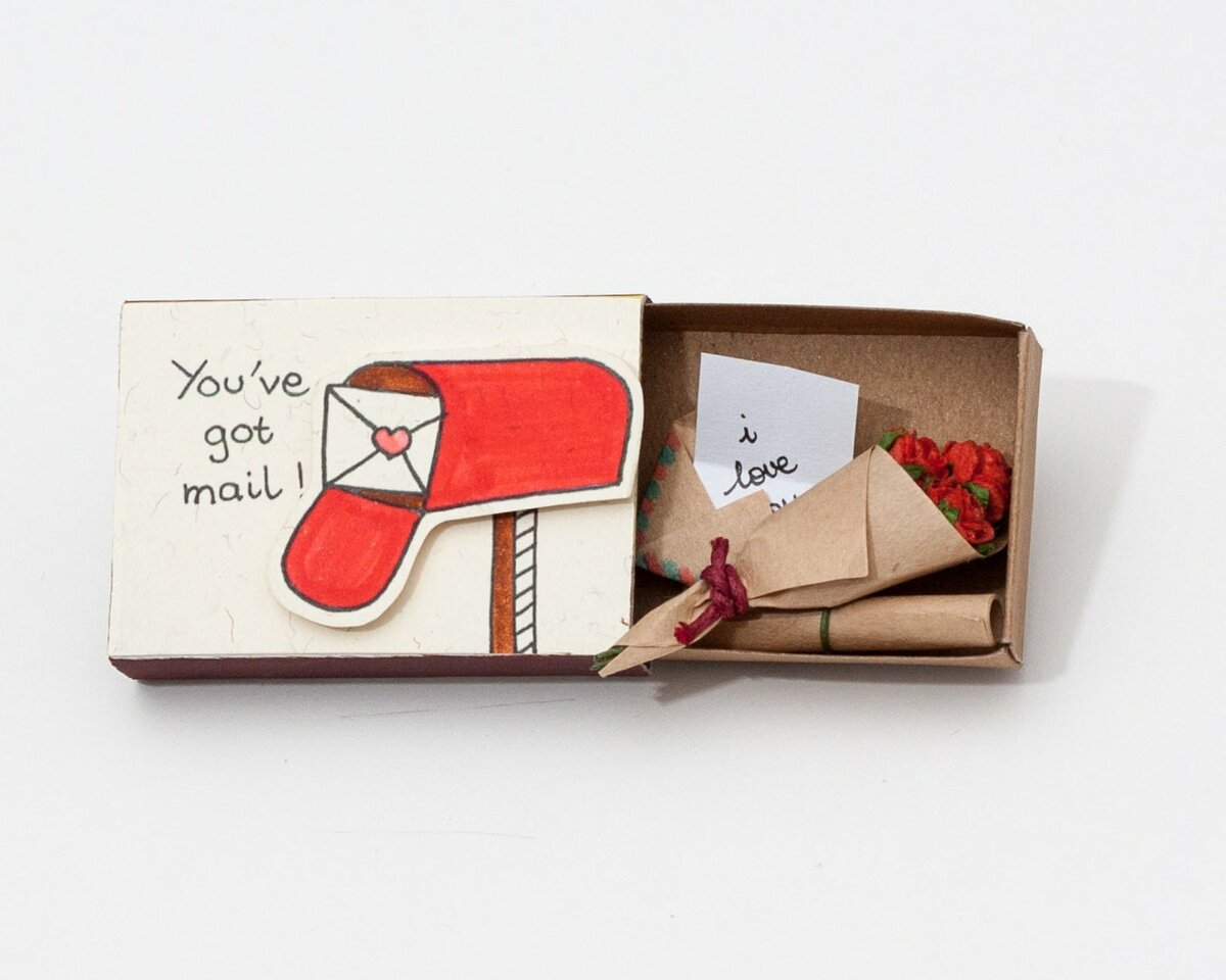 маленькие открытки своими руками мужчине очаровательное