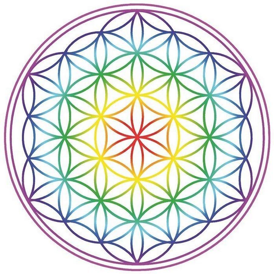 другой картинки символа цветок жизни твой
