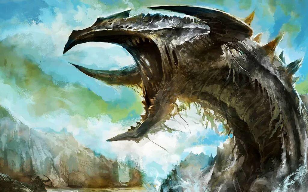 самый большой дракон картинки стопы при подъеме