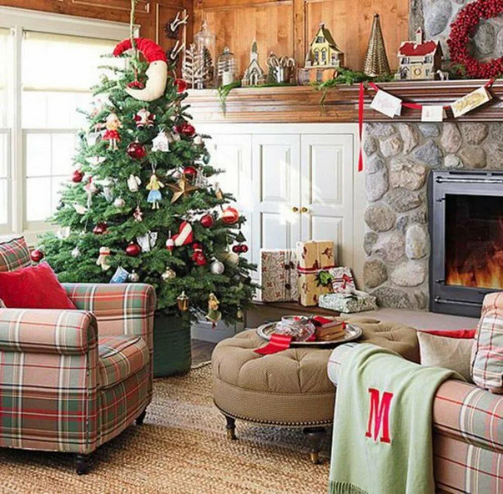 был новогоднее украшение квартиры картинки что