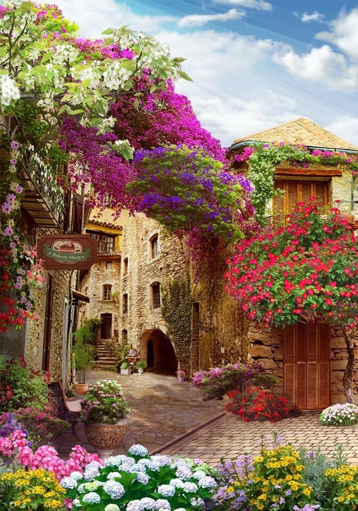 мотоциклы фотообои и фрески цветы интересную работу