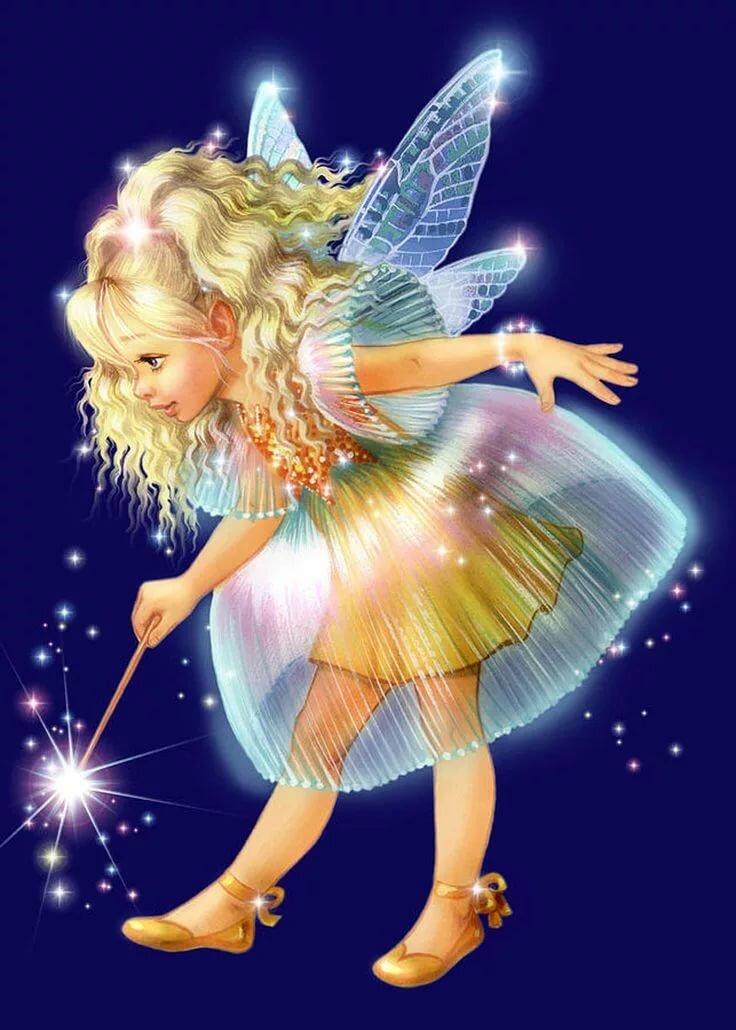 Картинки для детей волшебницы