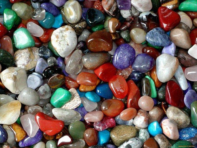 Простые камни фото