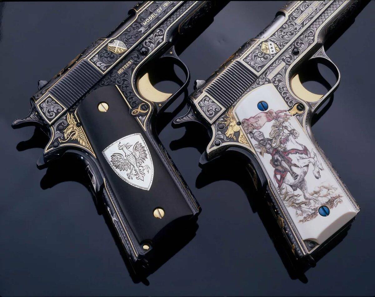 Украшенное оружие картинки