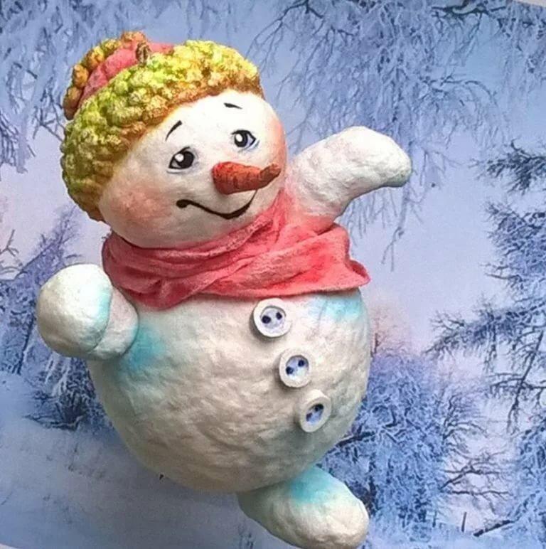 фотосессию снеговик из ваты своими руками пошаговое фото модный
