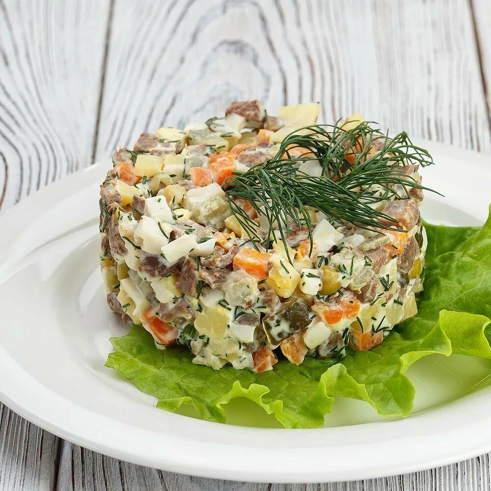 Картинка салат мясной