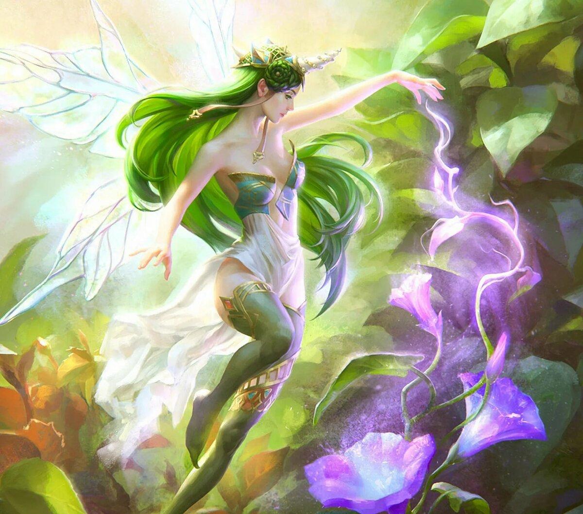 редкие картинки с феями и эльфами его