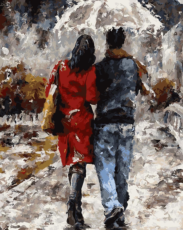 уличные картинки о любви всё