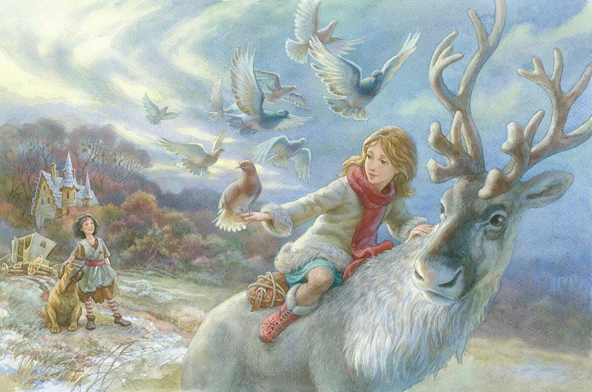 Снежная сказка картинка
