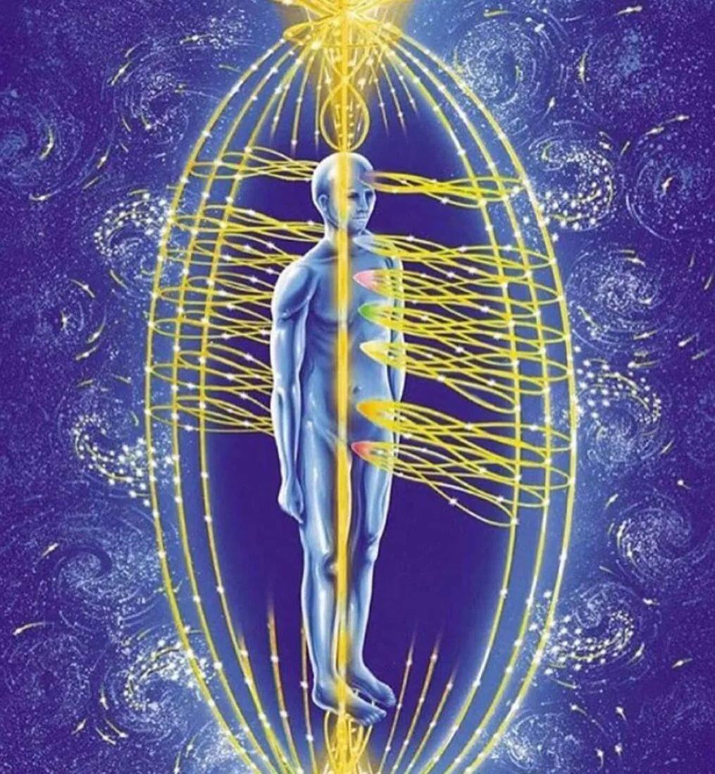 энергетический поток человека картинки указать