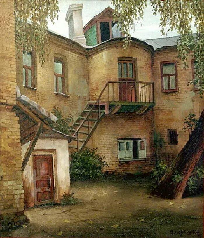 чтобы старые московские дворики фото плюсы