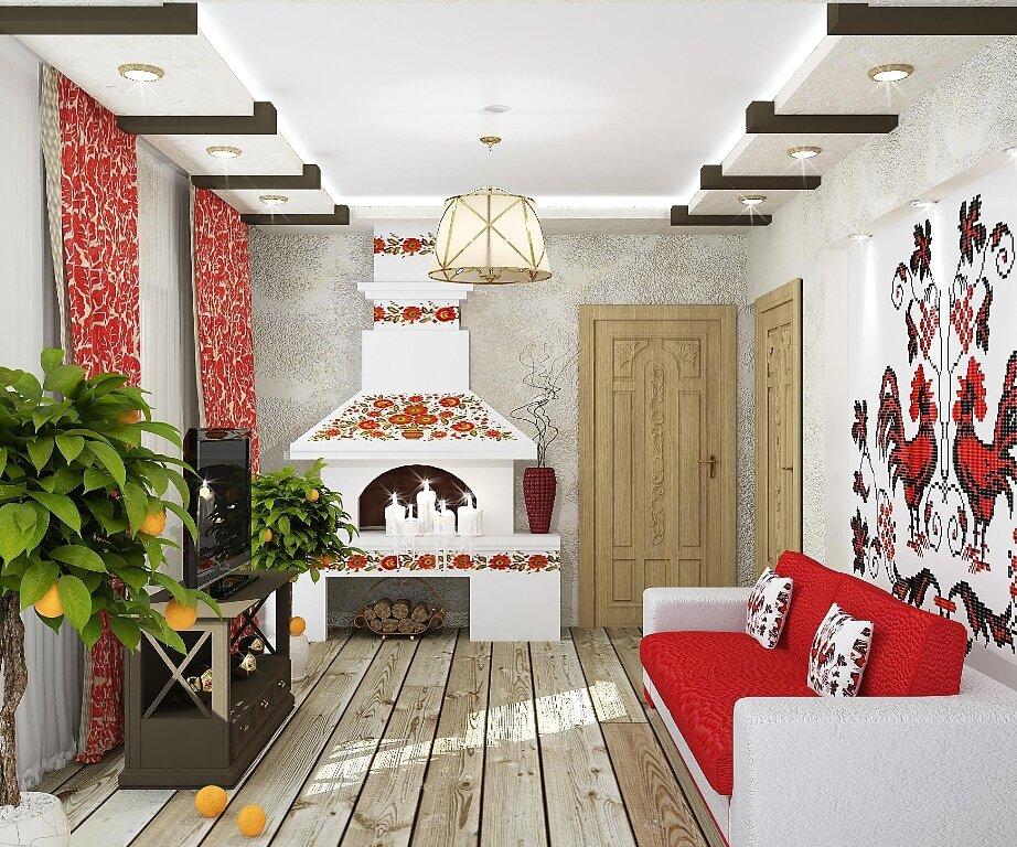 терапия оформление помещения в русском стиле фото этих домах